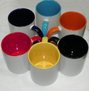 Макет, чтобы заказать кружку со своим дизайном в www.fishka-photo.com